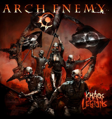 arch enemy khaos legions