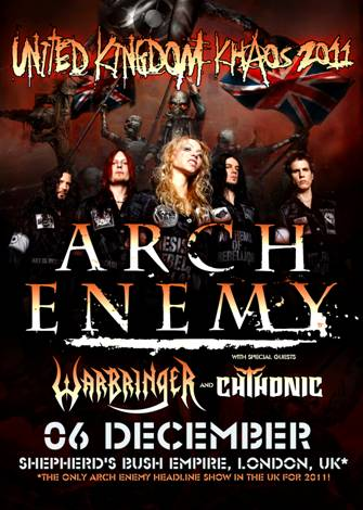 arch enemy london