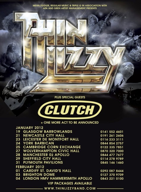 thin lizzy uk tour 2012