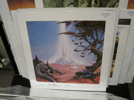 Asia Magnum Uriah Heep Artist Rodney Matthews As Busy As