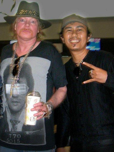 Guns N Roses Change Indonesian Date Due To Heavy Rain