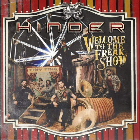 hinder welcoem to the freak show