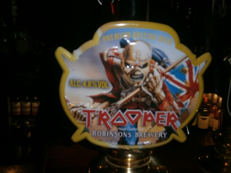 iron maiden trooper beer