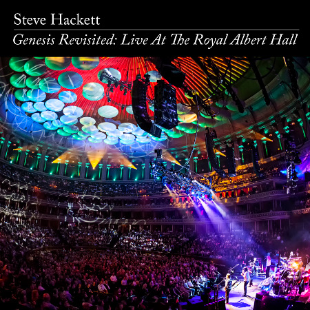 Steve Hackett has just released 'Genesis Revisited: Live At The Royal Albert Hall' on both CD and captivating DVD.