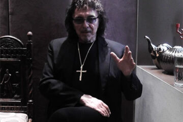 Photo of Tony Iommi, of Black Sabbath