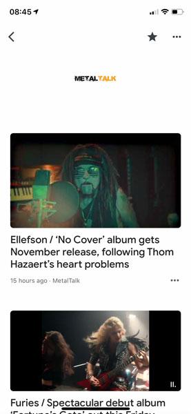 MetalTalk on Google News