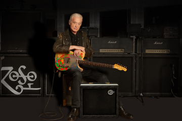 Jimmy Page with Sundragon Standard Amp