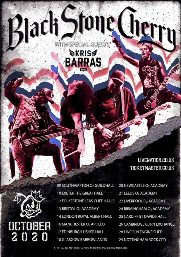Black Stone Cherry Tour Dates 2020