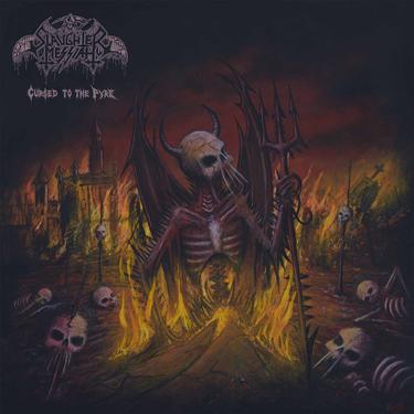 Belgium's Blackened Death Thrashers 'Slaughter Messiah' Album Cover