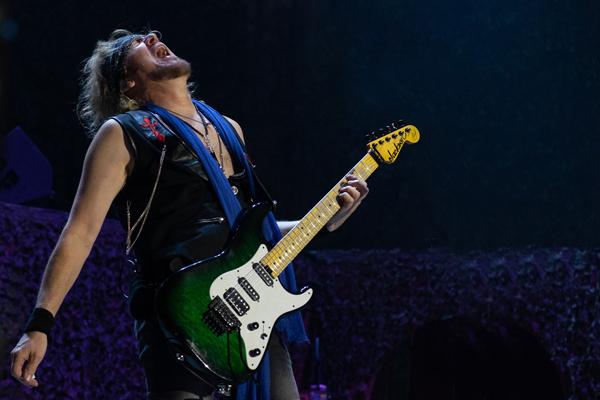 Adrian Smith, guitarist with Iron Maiden