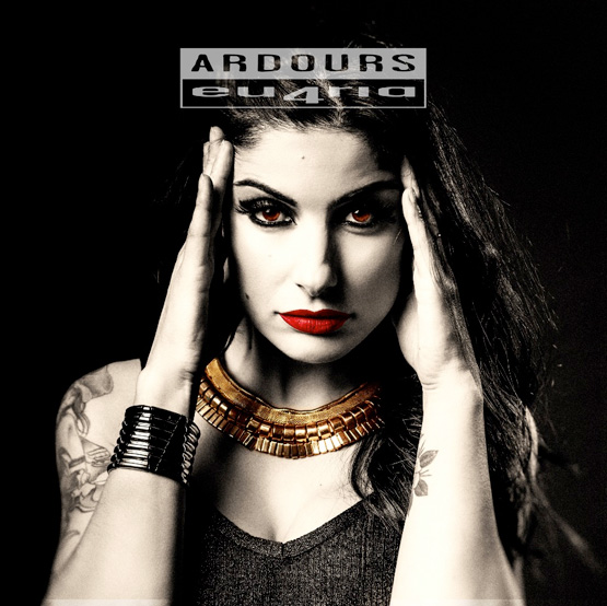 Italian Heavy metal Band Ardours album cover 'eu4ria'
