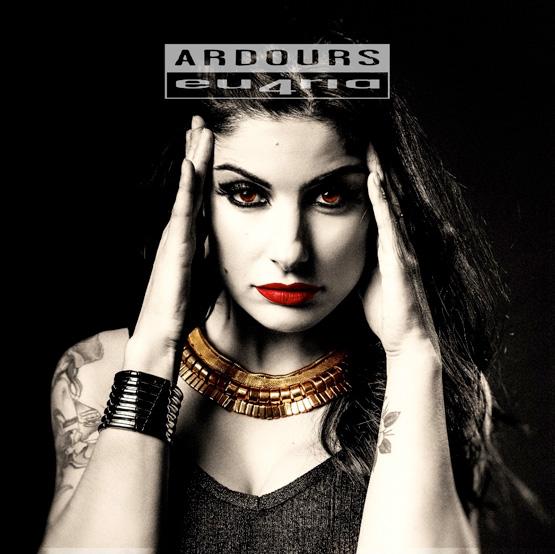 Italian Heavy metal Band Ardours album cover 'eu4ria'