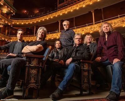 Group shot of the band Kansas