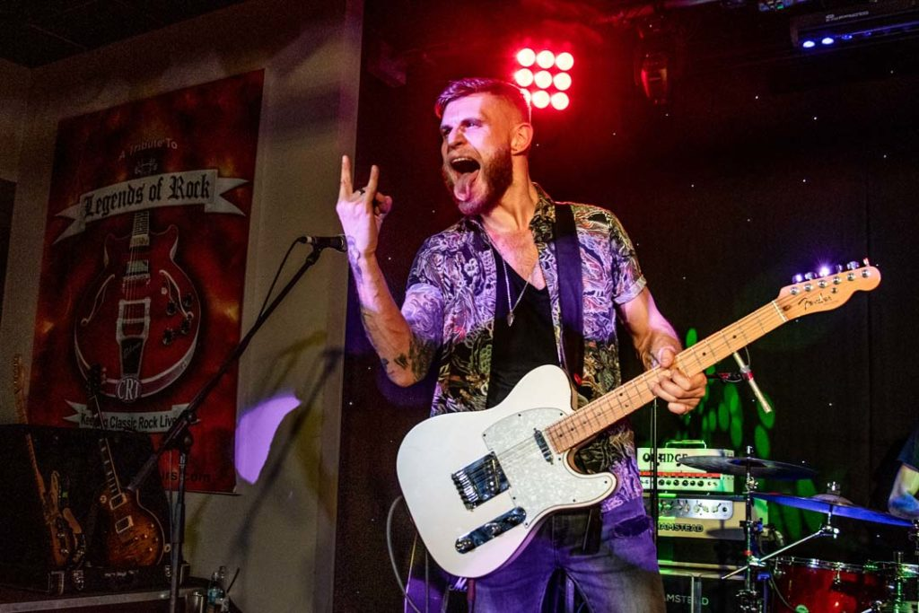 Ben Poole at The Legends of Rock, Great Yarmouth