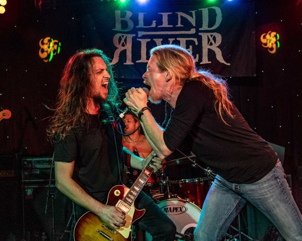 Blind River at The Legends Of Rock, Great Yarmouth