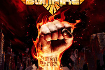 Bonfire - Fistful Of Fire album cover