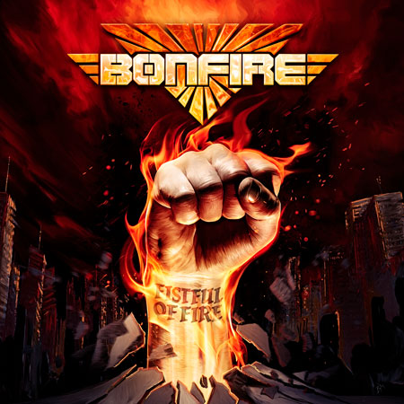 Bonfire - Fistful Of Fire album cover