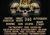 HRH AOR and Hammerfest postponed
