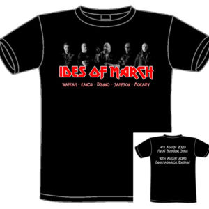 Ides Of March T-Shirt. METAL PARADISE FESTIVAL in Spain and BEERMAGEDDON FESTIVAL in Bromsgrove