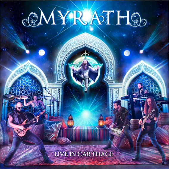 Myrath Live In Carthage album cover