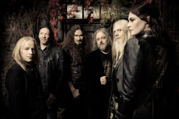 Nightwish, who have announced a partnership with World Land Trust