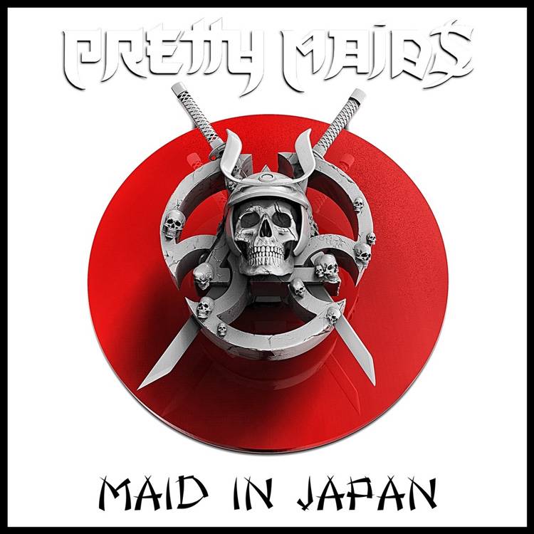 Pretty Maids new album Made In Japan. This is the album cover