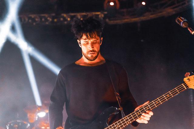 Tobin Esperance, from Papa Roach in Greece. Interview with Metaltalk