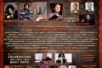8th ANNUAL ROCK AGAINST MS BENEFIT CONCERT & AWARD SHOW Poster