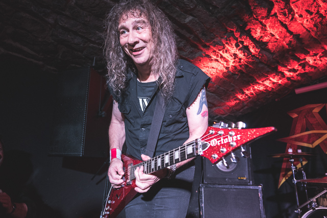 Heavy Metal band Anvil, Bannermans, Edinburgh