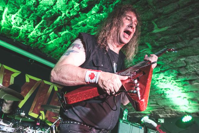Heavy Metal Band Anvil, Bannermans, Edinburgh