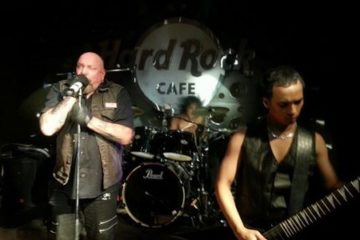 Photo of Paul Di'Anno performing in Vietnam