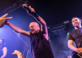 Blaze Bayley on stage at Burr Fest 2020
