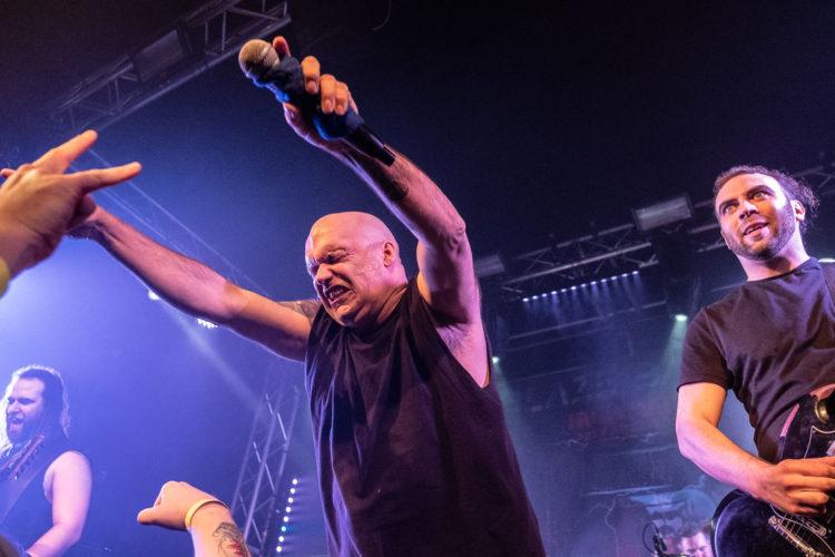 Blaze Bayley on stage at Burr Fest 2020