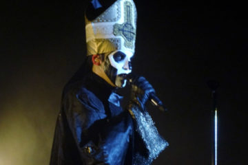 Ghost on stage