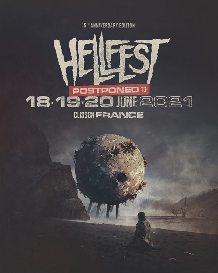 POster stating Hellfest is cancelled