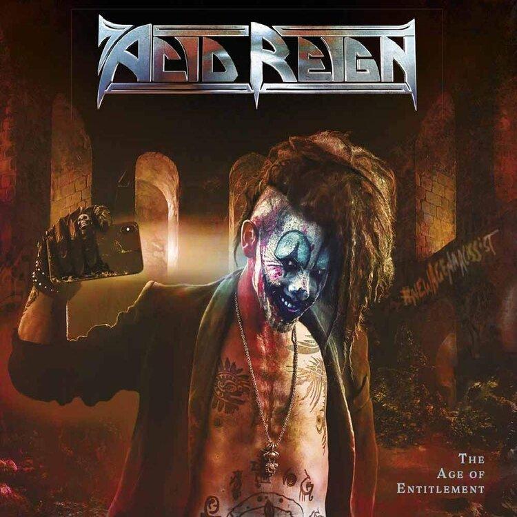 Acid Regin - Age Of Entitlement album cover