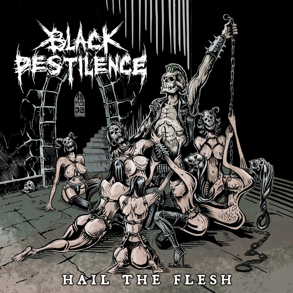 Black-Pestilence album cover