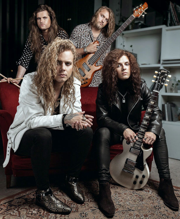 Bloody Heels band photo