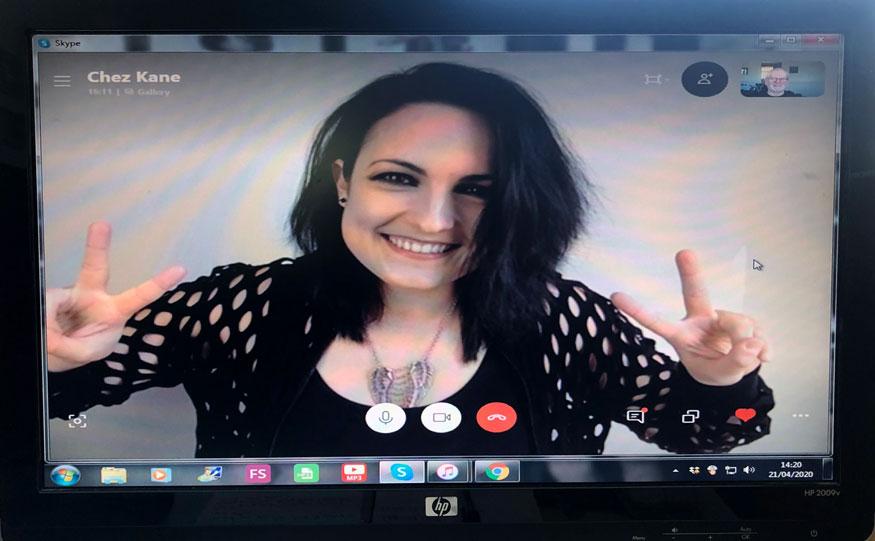 Photo of Chez Kane on Skype