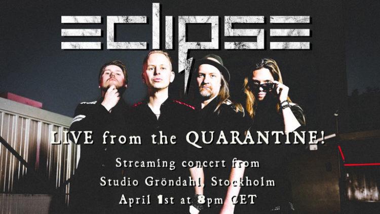 Eclipse live stream poster