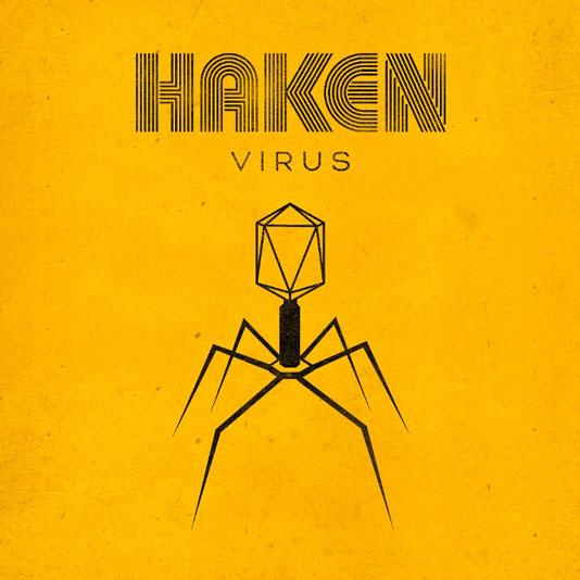 Album cover 'Virus' , from Progressive Metal band Haken