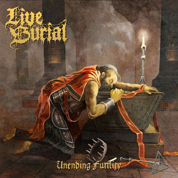 Live Burial album cover