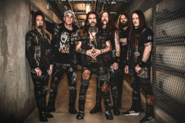 Photo of Metal band Machine Head