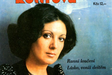 Cover of Marie Rottrova's single.