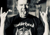 Rick Astley models Motorhead tShirt