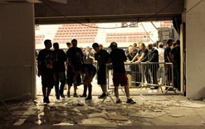 Photo of Iron Maiden fans in Brazil
