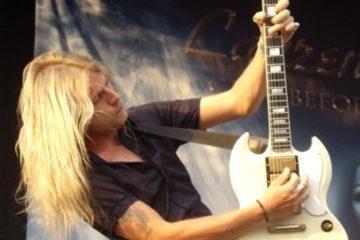 Photo of Judas Priest guitarist Richie Faulkner