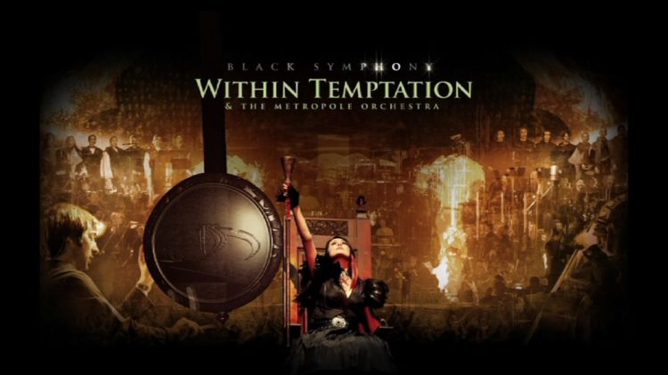 Cover of Within Temptation DVD