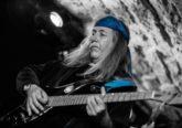 Uli Jon Roth, on stage at Bannermans in Edinburgh
