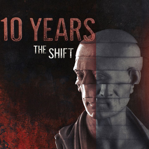 Image of The Shift, the first music from 10 Years in nearly three years.